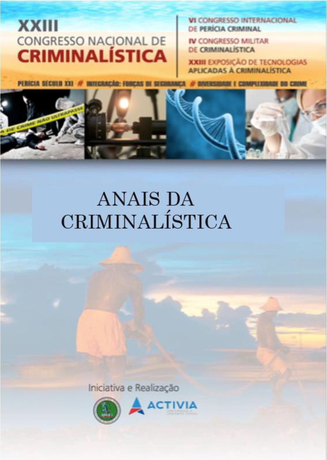 Anais do Congresso Nacional de Criminalística de Búzios